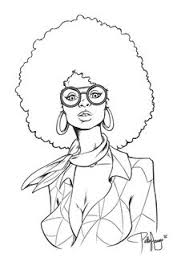 Small Picture african american line art Yahoo Image Search Results coloring