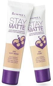 rimmel stay matte liquid mousse foundation in true beige 203