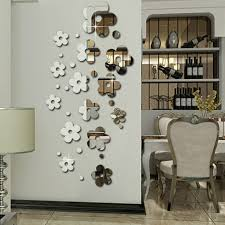 Use removable wall decor properly can bring big changes to your house.  Flower and grass removable wall graphics for the spring, blue and yellow  removable ...