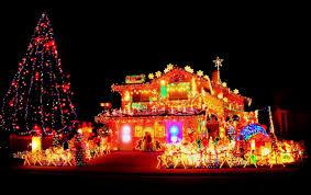 ... Shining Christmas Houses Decorations Ravishing Elegant House Happy  Holidays ...