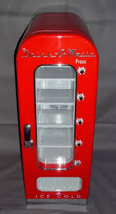 Drink O Matic Personal Vending Machine Classy DrinkOMatic Red Novelty Soda Vending Machine DR48 48Can Rare EBay