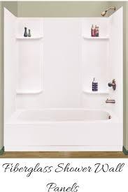 fiberglass shower wall panels