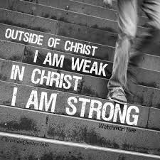 Strong Christian Quotes Best of Watchman Nee Quote With Christ I Am Strong ChristianQuotes