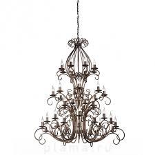 Большая подвесная каскадная <b>люстра</b> со свечами <b>Vitaluce V1815</b> ...