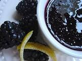 blackberry pear sauce for lamb chops on greens