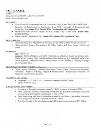 How To Do A Good Resume Examples Best Writing A Good Resume Example How To Write A Proper Resume On How To