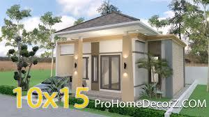 house plans 10x15 meters 33x49 feet