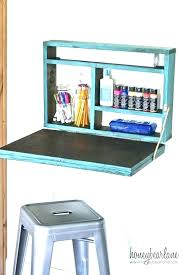 fold down wall desks wall mounted fold out desk fold out craft cabinet desk fold down