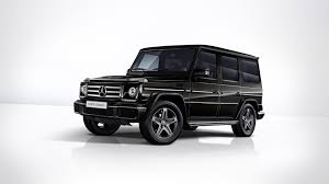 There was just a small issue that the front number plate was missing. Mercedes Benz Limited Edition G Class 2018