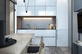 Apartment Small Kitchen Apartment Small Kitchen Idea For Apartment With Veneer Storage
