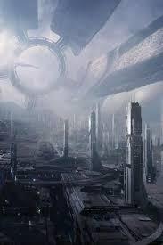 future futuristic city android wallpaper