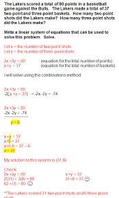simple pre algebra linear equations word problems homeshealth info