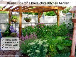 Small Picture Design Tips for a Productive Kitchen Garden The Micro Gardener
