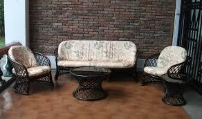 affordable rattan sofa set with rattan