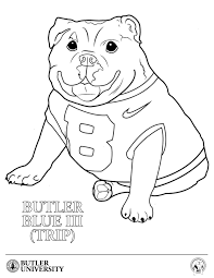Small Picture Adult blue coloring pages Coloring Pages Butler Blue 10594943693