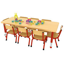 school rectangle table. 8 Seater Rectangular Table School Rectangle