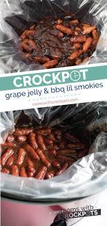 crockpot g jelly bbq little