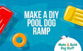 make a diy pool dog ramp make build
