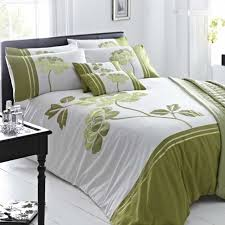 issey green duvet cover set