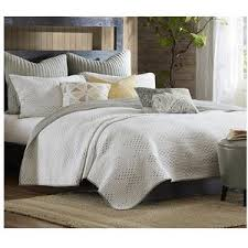 Pacifica Taupe and Ivory Quilt Bedding Set & taupe-and-off-white-quilt-bedding-sets Adamdwight.com