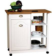 Small Picture Mobile Kitchen Island Trash Bin brockhurststudcom