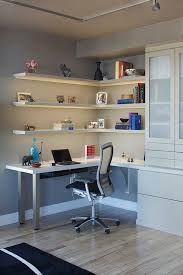 home office design desk wall unit