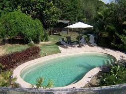 salt water pool design. Small Saltwater Pool With Lounge Chairs : The Benefits Of Pools Salt Water Design