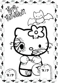 Halloween Coloring Pages Online Scary Trustbanksurinamecom