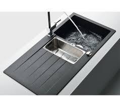 kitchen sink 1 5 bowl alpina schock primus onyx d 150 629043 accessory