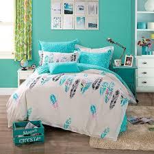 100 cotton feather bedding set bed set linen cotton queen size bedclothes duvet cover bedlinen bedclothes blue mindule red duvet covers gingham bedding