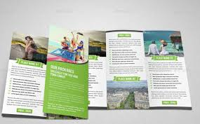 Trifold Brochure Indesign Template 40 Best Travel And Tourist Brochure Design Templates 2018 Designmaz