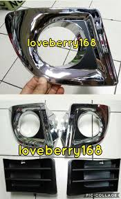 Jual Cover Fog Lamp Chrome Garnish Fog Lamp Avanza Xenia Vvti Tahun