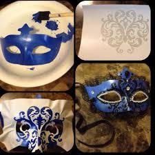 Masquerade Mask Decorating Ideas