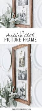 Diy Rustic Frame Best 25 Rustic Frames Ideas On Pinterest Framing Mirrors