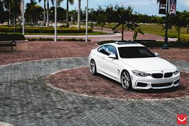 Coupe Series bmw 435i xdrive gran coupe : White BMW 435i On Vossen Wheels