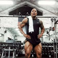 photo dwayne the rock johnson shared this post workout pic to his insram account