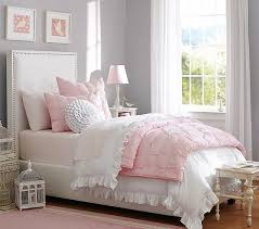 girls upholstered bed. Beautiful Bed Rowan Upholstered Bed U0026 Headboard  Pottery Barn Kids Full 1175 Throughout Girls