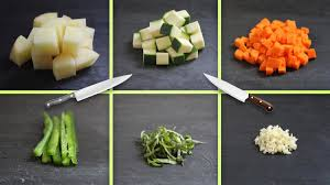 Diced Chopped Minced More A Visual Guide To Six Basic