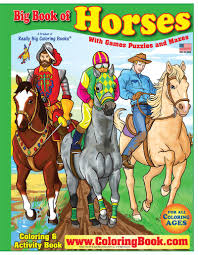 coloring books horses really big giant coloring book printable coloring pages