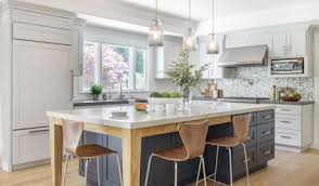 kitchen makeoversroom of the day soothing gray cabinets update a modern kitchen