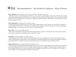 recommendations 22