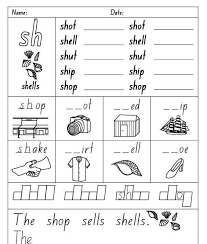Phonics is a method of teaching kids to learn to read by helping them to match the sounds of letters, and groups of letters, to distinguish words. Sh Sound Phonics Worksheets Ms Ayah For Private Lessons Facebook