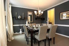 modern dining room wall decor ideas. Grey Fabric Dining Room Chairs Designs Modern Wall Decor Ideas