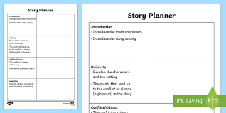 Free Story Planning Frame Primary Resource