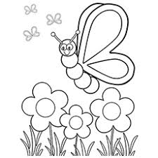 Color pictures of baby animals, spring flowers, umbrellas, kites and more! Top 47 Free Printable Flowers Coloring Pages Online