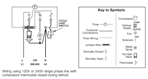 defrost timer climate control wiring diagrams hot gas defrosting