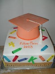 Elementary School Graduation Cake Ideas 86244 Cakes Deco G