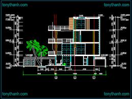 building cad block morden house cad block autocad drawing sample elevation