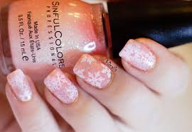 PhD nails: Challenge your nail art: Sinful colors Pinky glitter ...
