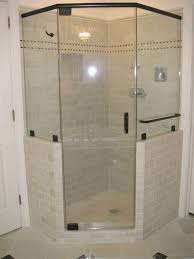 showers corner shower enclosures for small bathroom with pentagon glass shower screen glass shower doors